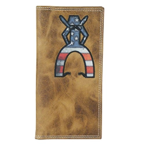 (HOOey Patriotic Punchy Rodeo Wallet)