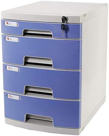 Aktenschrank Große Kapazitäts-Dokument Kabinett - Einreichung und Organisation Papierunterlagen, Werkzeuge, Kinderbastelbedarf - Home Office Desktop-File Storage Box Office Drawer Büroaktenschrank