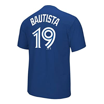 Jose Bautista Toronto Blue Jays Majestic MLB Player Royal Blue T-shirt