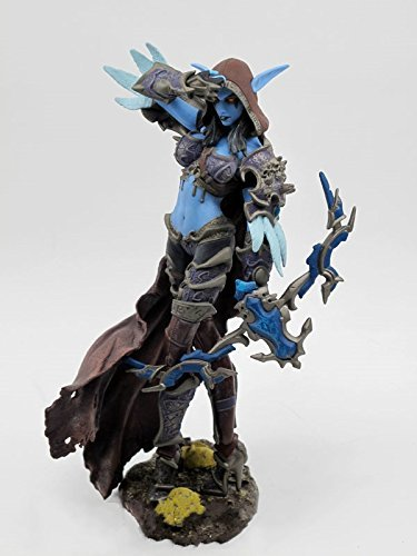 DC Unlimited WOW World of Warcraft SERIES 6 DC 6 Forsaken Queen: Sylvanas Windrunner Action Figure Collectible Toy