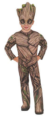 (Rubie's Costume Guardians of The Galaxy Vol. 2 Toddler Deluxe Groot Costume, Multicolor,)