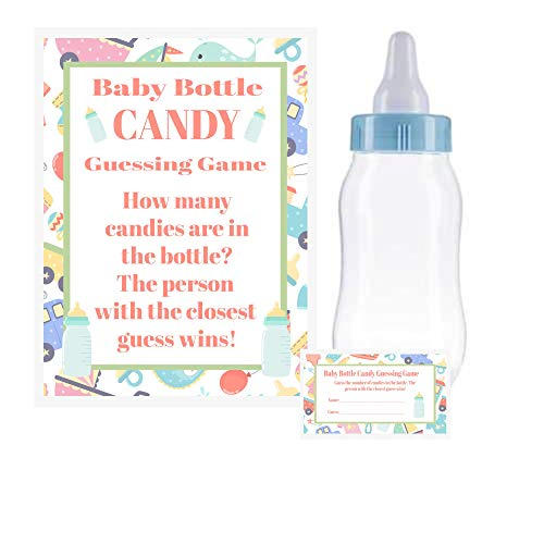 (Baby Shower Bottle Game Candy Guessing Game 11