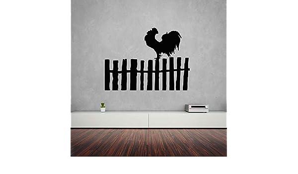 caowenhao Etiqueta de la Pared Cock Bird Farm Tatuajes de ...