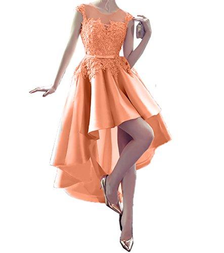 lo Abendkleider Langes Partykleider Hell Ballkleider Spitze Damen Linie Hi Charmant Orange A Festlichkleider Promkleider x1n5XWR4w
