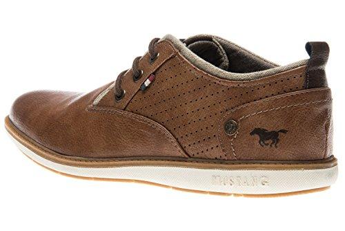 Mustang Herre 4111-303-307 Sneaker Cognac xRkDUvpc4f
