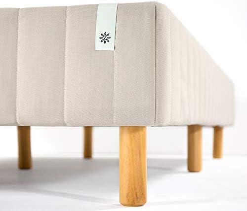 ZINUS GOOD DESIGN Award Winner Justina Metal Mattress Foundation / 16 Inch Platform Bed / No Box Spring Needed