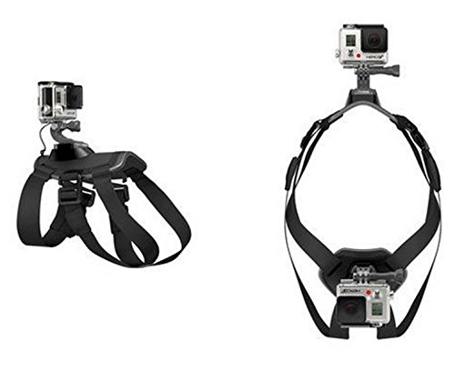 MEW Harness Back Chest Mount With Adjustable Buckle Screw For GoPro Hero 6/5/5 Session/4 Session/4/3+/3/2/1, Yi