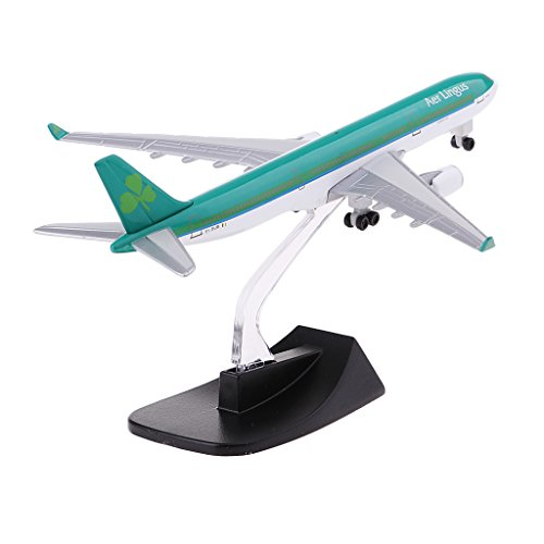 Baoblaze 13cm/5.11'' Aircraft Plane Models Toy A330 Aer Lingus 330 Airbus Airways Airplane with Stand