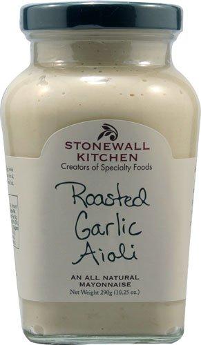 roasted garlic aioli - 5