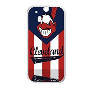 Happy cleveland indians Phone Case for HTC One M8