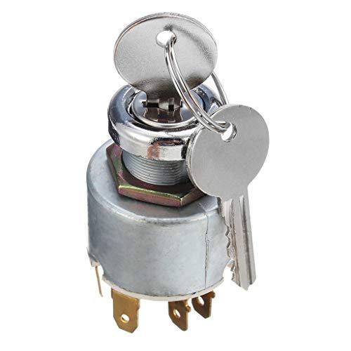 Coersd Car Ignition lock Motor Boat Universal 4 Position Ignition Switch12V 2 Keys Set For SPB501