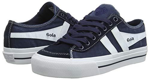 navy Donna Blue Quota Ii white Gola Sneaker Ew w6g4X