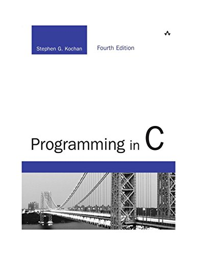 Pdf Computers Programming in C (4th Edition) (Developer's Library)