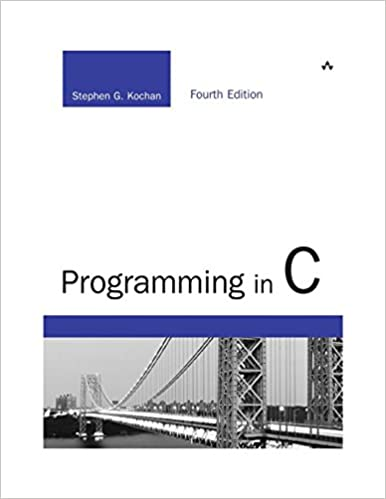 Programming In C Third Edition Stephen Kochan Pdf