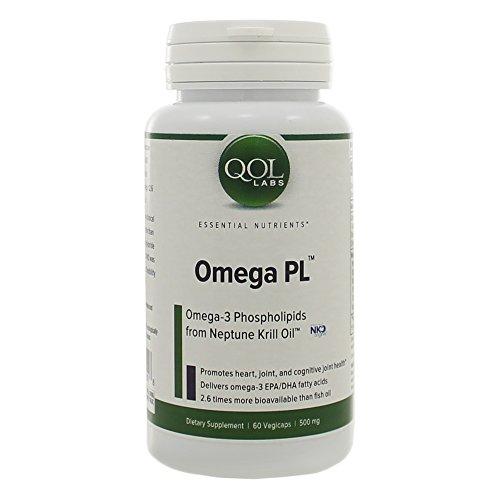 QOL Labs Omega PL 60 Veg Caps