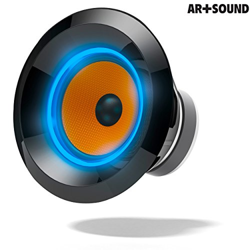 Ar sound ar1004 38 bluetooth tower speaker with ambient for Led light bulb with built in bluetooth speaker