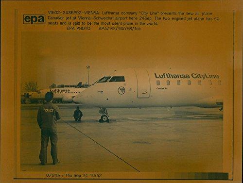 Vintage photo of Lufthansa: City Line