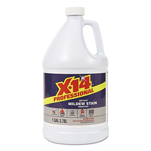 WD-40 WDC260240 X-14 Mildew Stain Remover, 1gal, Bottle, ...