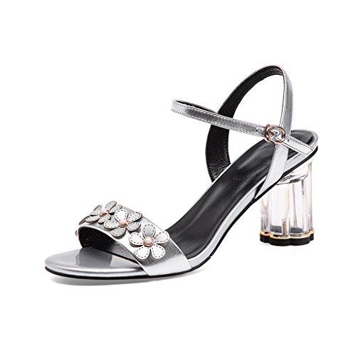 4ad7d296bb10 Zapatos de Tacón Alto de Verano para Europa y América Zapatos de ...