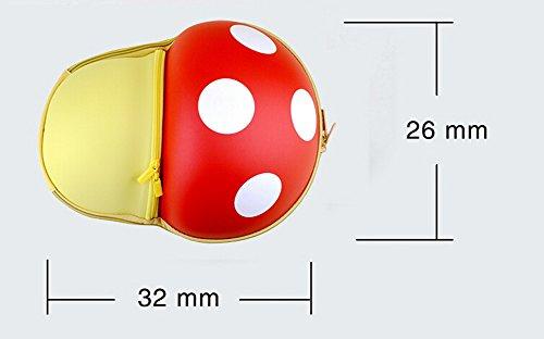 Einzigartige Kinderrucksack pilzförmigen Erwachsener Bag Fashion Rucksack [orang KBDzjhw