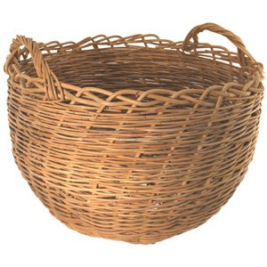 Reed Basket Round (Bushel Basket Kit)