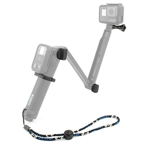 SOONSUN Thumb Screw Bolt Kit Replacement with WiFi Remote Clamp Mount Holder and Wrist Strap for GoPro 3-Way Grip Arm Tripod