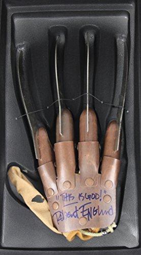 Robert Englund Freddy Krueger Signed Autographed Nightmare on Elm Street Real Metal Claw Glove
