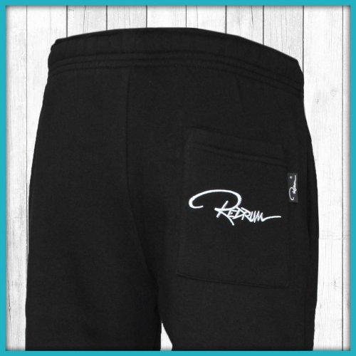 Redrum pantaloni da jogging Plain Pant nero XXS