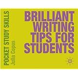 Brilliant Writing Tips for Students (Pocket Study Skills)