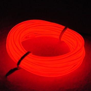 Amazon.com: Lychee Neon Glowing Strobing Electroluminescent Light ...