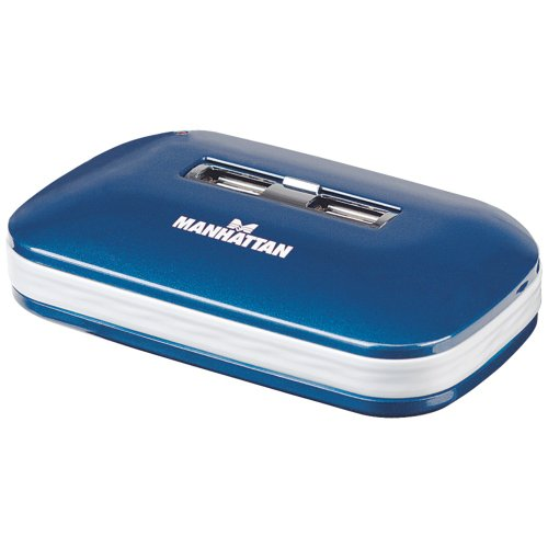 MANHATTAN 161039 7-Port Ultra USB 2.0 Hub electronic consume