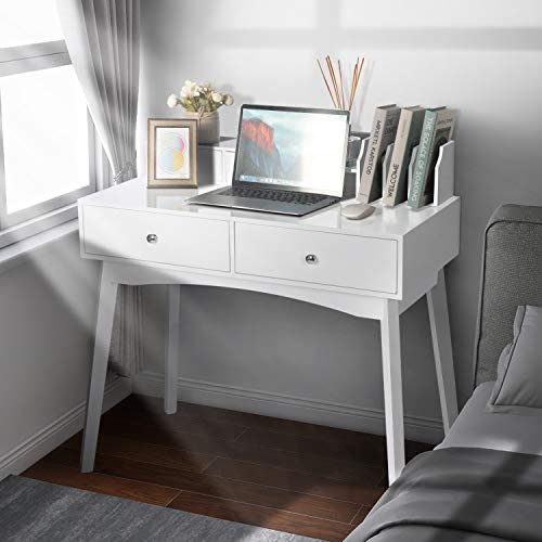 LYNSLIM White Writing Desk