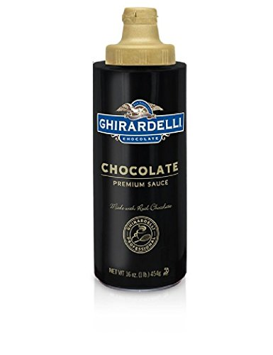 Ghirardelli Chocolate Chocolate Flavored Sauce Squeeze Bottle, 16 fl. oz. ()