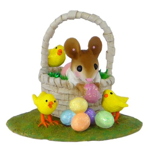Wee Forest Folk M-504b Easter Basket Bounty (Girl)