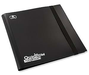 Ultimate Guard 12-Pocket QuadRow FlexXfolio, Black