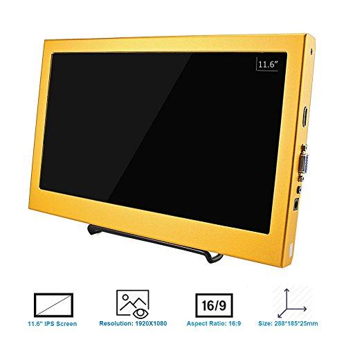 Elecrow 11 6 Inch 1920X1080 HDMI PS3 PS4 WiiU Xbox360 1080P LED