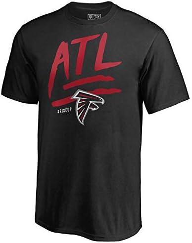 メンズTシャツ 綿100% NFL プロフットボールリーグ アトランタファルコンズ プレーヤー半袖 ラウンドネック (Color : O, Size : XXXL)