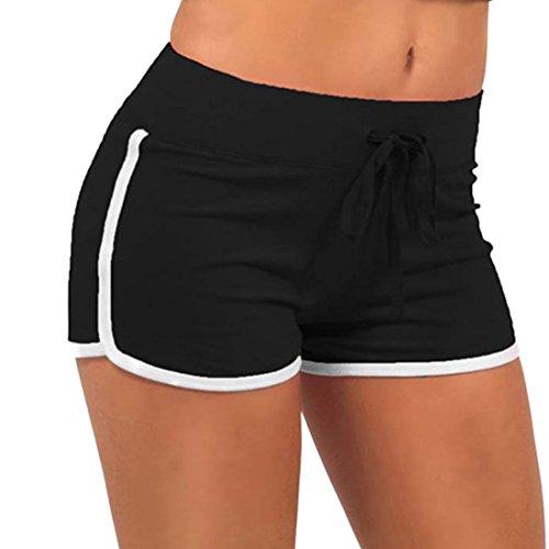 Colores Deportes Ai moichien con Mujeres caramelo cord cortos Pantalones de fHwwgq