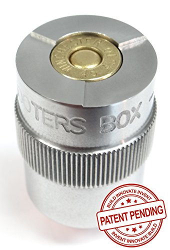The Shooters Box 45 ACP Case & Ammunition Gauge - NEW PATENT PENDING DESIGN ! - For Checking Your Reloads & Ammo (45 Ammo Acp)