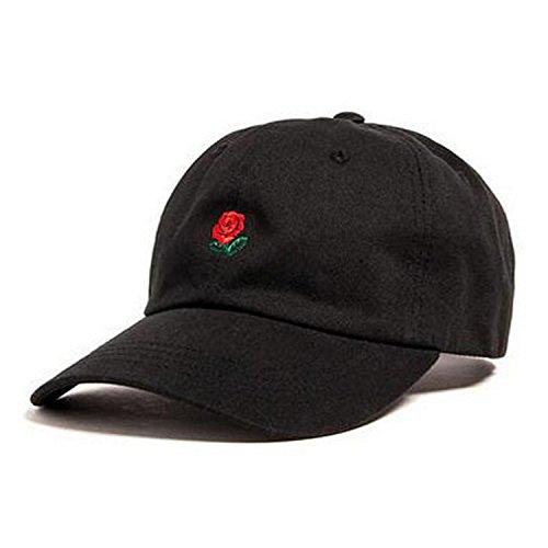 Deer Mum Unisex Rose Embroidered Baseball Cap Adjustable Hat -