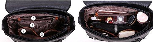 Atmospheric Bag Handbag of Korean Summer Brown Handbags Backpack Brown Shoulder Color Wild Fashion Version Oblique vwpfqPdB