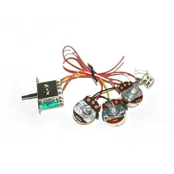 Surfen Gitarre Verkabelung 1 V2T 1jack 5-Wege-Schalter für Strat E ...