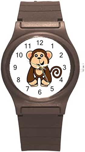 Kidozooo Boys Girls Cartoon Monkey Wild Animal 1 3/8