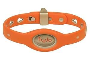 Teafco Fydo Action Water Resistant Small Dog Collar, Tango Orange