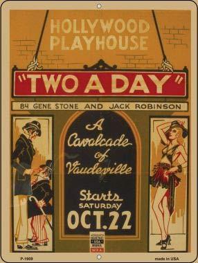 (Pride Plates Philharmonic Auditorium Vintage Poster Parking Sign P-1911)