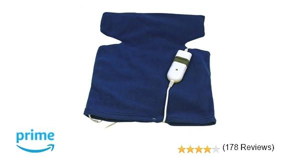 Almohadilla Electrica Tipo Chaleco Terapeutica Cuello Cervicales y Espalda 3 niveles de calor 2592c: Amazon.es: Electrónica