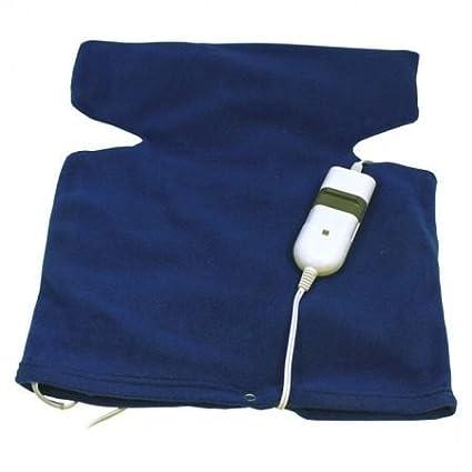 Almohadilla Electrica Tipo Chaleco Terapeutica Cuello Cervicales y Espalda 3 niveles de calor 2592c
