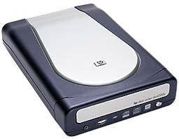Hewlett Packard DVD200e 2.4x2.4x8 External USB 2.0/FireWire DVD+RW Drive