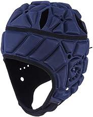 surlim Soft Helmet Flag Football Rugby Helmet Scrum Cap Soft Shell Helmet Soccer Headgear Special Needs Head P