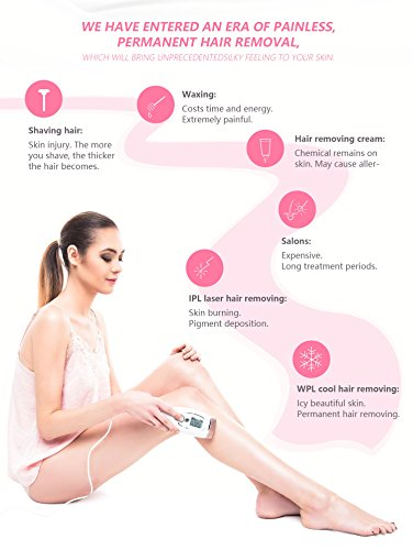 Innovative WPL Painless Permanent Hair Removal Device for Women Home Use by Bosidin (Image #6)
